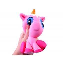 SQUISHY - Antistresová penová hračka Koník jednorožec