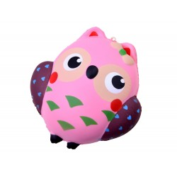 SQUISHY - Antistresová penová hračka Sova