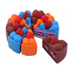 SQUISHY - Antistresová penová hračka Torta, 3 farby