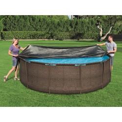 Bestway - Prikrývka na bazén s konstrukciou 366 cm - 58037