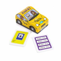 Hry do auta Značky