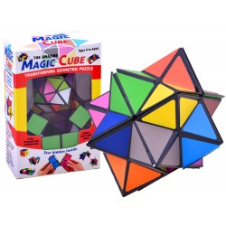 Magická skladačka, kocka 2v1