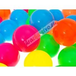 Multifarebné loptičky, 46 ks