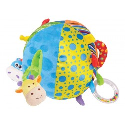Interaktívna plyšová lopta Activity Ball, 6m+
