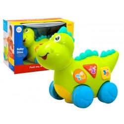 Interaktívny dinosaurus, jazdí a hrá, 12m+