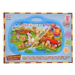 HUILE toys - dotykový panel farma, anglický