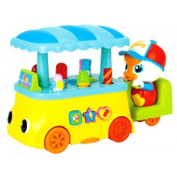 HUILE Toys Interaktívne zmrzlinárske auto, 18m+
