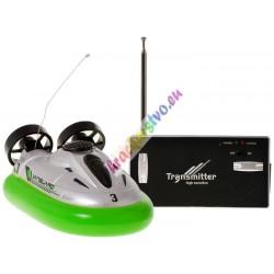Hovercraft - vznášadlo na diaľkové ovládanie 27 MHz, 3 farby