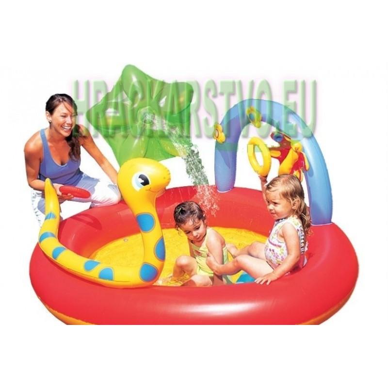 Bestway 53026 detský nafukovací bazén + fontána