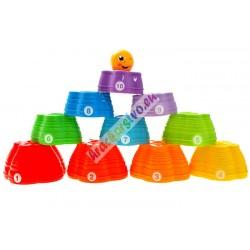 Farebná dúhová pyramída, 6m+