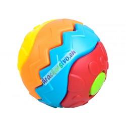 Farebná pyramída – interaktívna guľa, 3m+