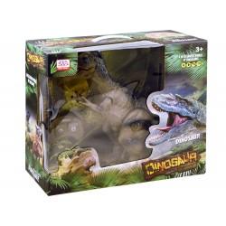 JOKO RC Dinosaurus Tiranosaurus REX s Dymom zvukom a svetlom na diaľkové ovládanie