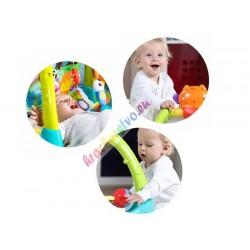 Huile Toys, Interaktívny detský stojan pre najmenších 5v1, 0+