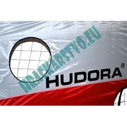 Futbalová bránka HUDORA - kovová, farebná plachta, 213 x 152 cm