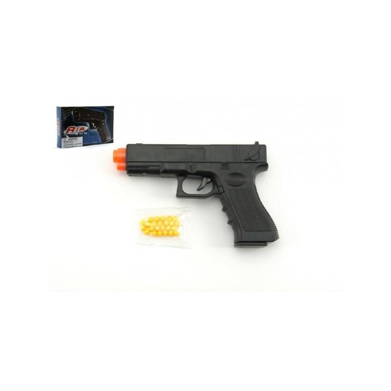 Pištoľ na guličky 17cm + guličky