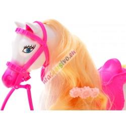 Bábika Džokejka + koník