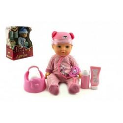 Bábika bábätko Agusia