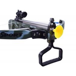 Kuša s laserovým zameriavačom