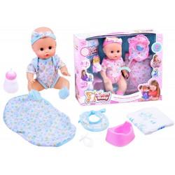 Interaktívna bábika – bábätko, pije, ciká, rozpráva