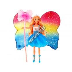 Magická víla v štýle Barbie, 30 cm, 2 farby