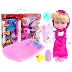 Hovoriaca bábika Máša + vaňa alebo posteľ