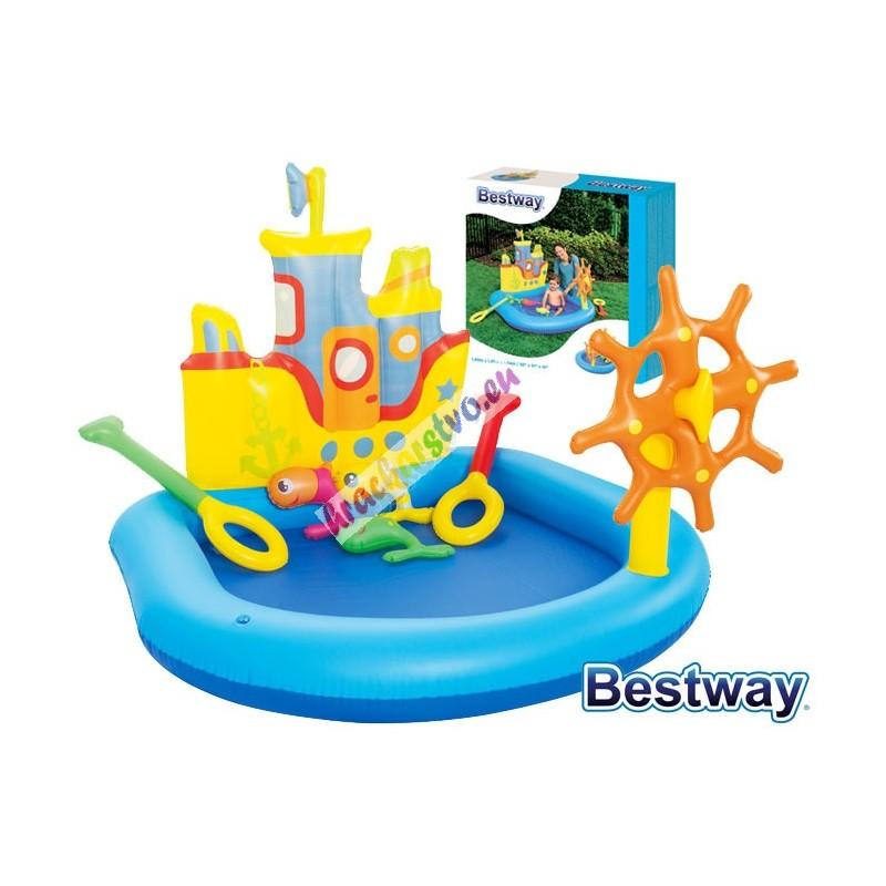 Bestway 52211, Vodné ihrisko Loď, 140 x 130 x 104 cm