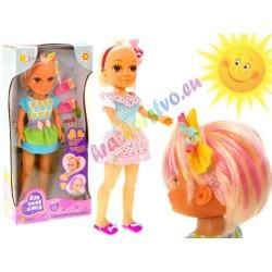 Bábika ktorá mení farbu vlasov