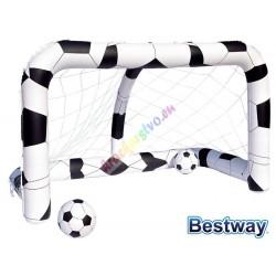 Nafukovacia futbalová bránka, Bestway