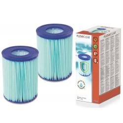 Bestway 58503 antibakteriálny filter typ II, 1+1 zdarma