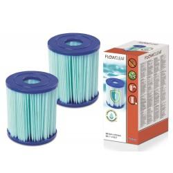 Bestway 58510 antibakteriálny filter typ I, 1+1 zdarma