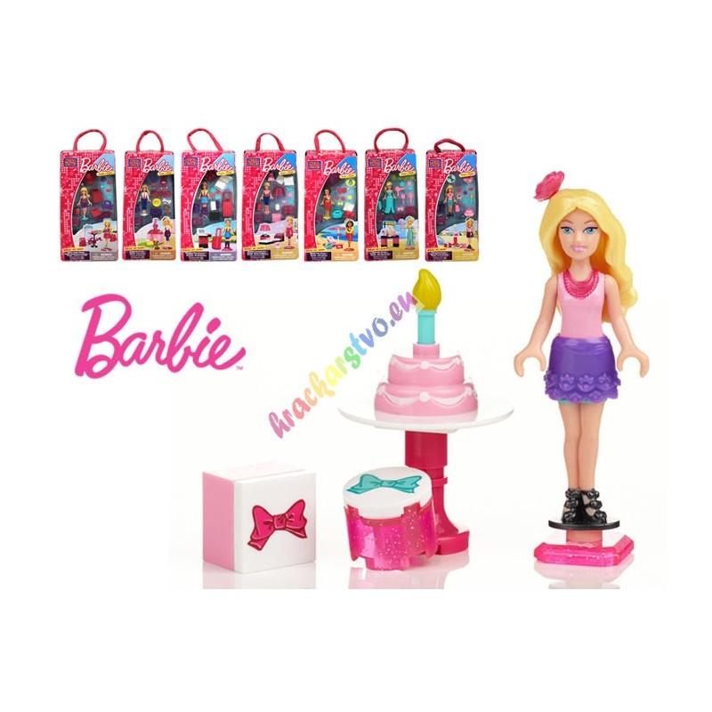 MEGA BLOKS, Barbie s prislušenstvom, 3 modely