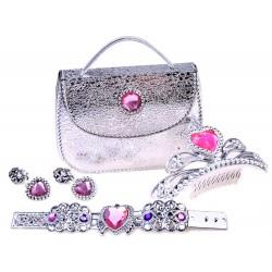 Šperky pre kráľovnú/princeznú + kabelka