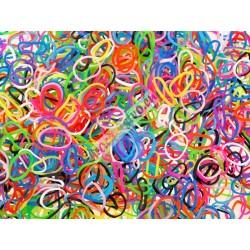 Loom Bands gumičky 1200 + koráliky