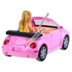 Autíčko pre dievčatá s otváracími dverami a bábikou