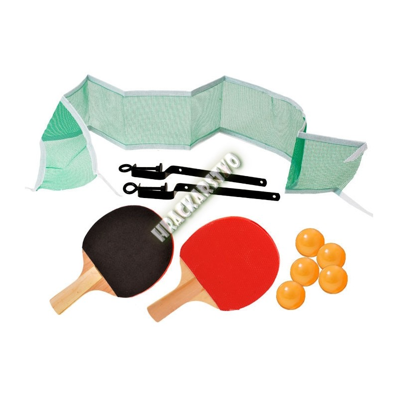Ping pong pálky + loptičky + sieťka