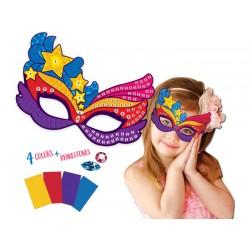 Urob si: Karnevalová maska, škraboška