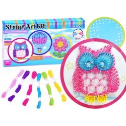 String Art Kit, Urob si: 3D obrázok