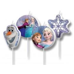 Narodeninové sviečky Frozen