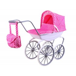 Retro kočiarik pre bábiky