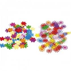 Konfety - farebné kvetiny, mx, 15g