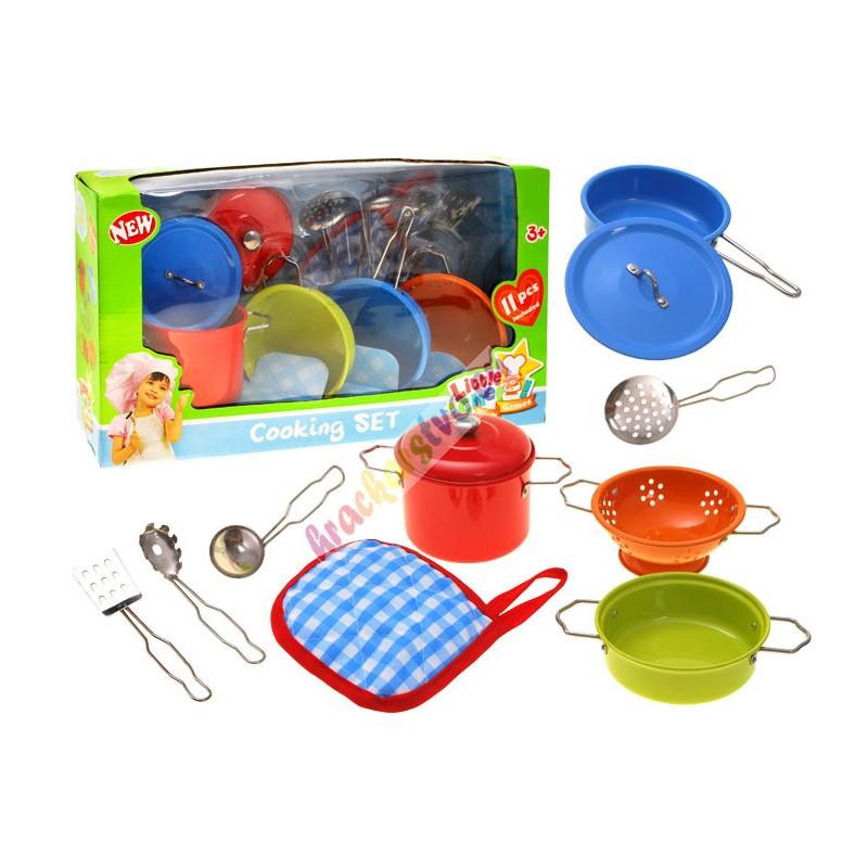Maľovaný detský kuchynský riad