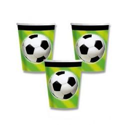 Papierové poháre Futbal 0,25l, 8ks