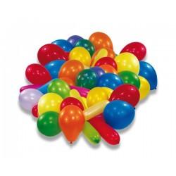 Nafukovacie balóniky farebné, 20ks