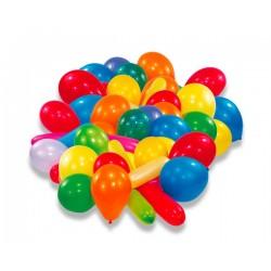 Nafukovacie balóniky farebné, 50ks