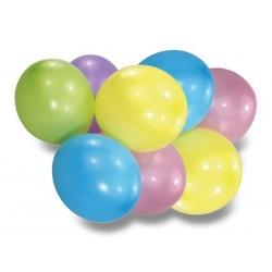Nafukovacie balóniky pastelové, 8ks