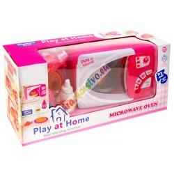 Detská mikrovlnná rúra so zvukom a svetlom, 2 farby