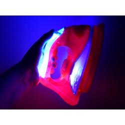 Interaktívna žehlička svetelné a zvukové efekty + para
