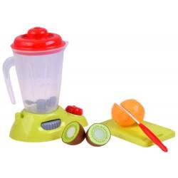 Kuchynský mixer + ovocie na krájanie