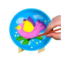 Kreatívna sada – tanieriky na maľovanie