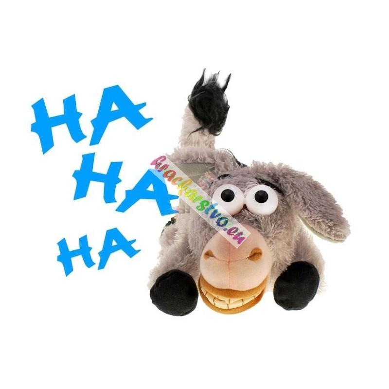 Veselý plyšový Oslík– so smiechom